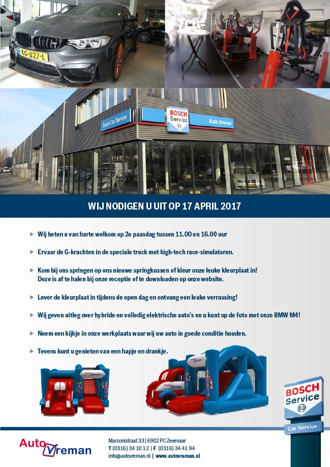 Speciale Open Dag 2e Paasdag 17 April A S Autovreman