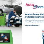 Vacature Service Adviseur / Werkplaatsreceptionist