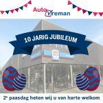 10 Jaar AutoVreman! Reden voor een feestje!